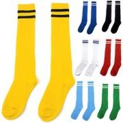 2 Pair Footballs Stockings Assorted Colors Socks