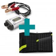 Cargador Solar Goal Zero Guardián 12V Plus + Panel Solar Nomad 13