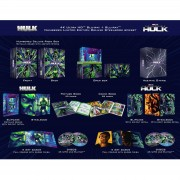 Universal Pictures Colección Hulk The Universal - Pack Steelbooks 4K Ultra HD Exclusivo Zavvi