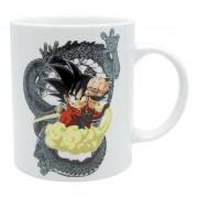 AbysseCorp DRAGON BALL - Taza - 320 ml - DB/ Goku & Shenron - porcl. with box