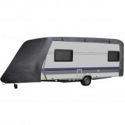 vidaXL Plachta na karavan - velikost M šedá
