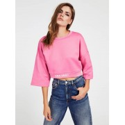 Guess Sweater Logo - Roze - Size: Extra Large