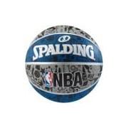 Bola de Basquete Spalding NBA Graffiti 7 83176Z - CINZA/AZUL Spalding