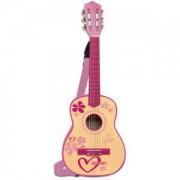 Детска играчка, Класическа дървена китара за момиче 55см., 191329