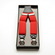 Pentru bărbaţi roșu bretele 3094
