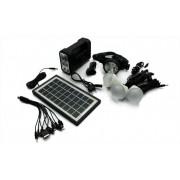 Kit sistem de iluminat cu panou solar GDLite GD-8008