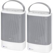 AEG BSS 4833 Bluetooth zvučnik aux, funkcija govora slobodnih ruku, zaštićen protiv prskajuće vode, USB bijela