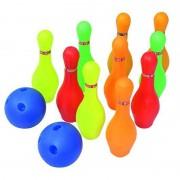 Juego de Bolos Softee PVC: Compuesto por 10 bolos de PVC y 2 pelotas