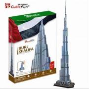 Cubicfun Burj Khalifa Dubai Puzzle 3D 136 de piese