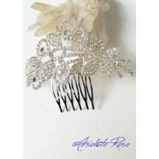 Гребенче-бижу за коса за бал и сватба Flowers and Leaves