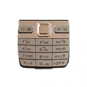 iPartsBuy Mobile Phone Keypads Housing Replacement with Menu Buttons / Press Keys for Nokia E52(Gold)