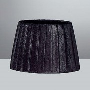 Large Organza Shade Black