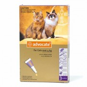 Advocate Spot On 80 For Cats 4 Kg or More 3 Doses