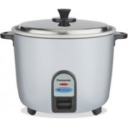 Panasonic SR-WA18(GE9)PMS Electric Rice Cooker(1.8, Silver)