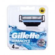 Gillette Mach3 Start lama di ricambio 4 pz uomo