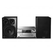 Audio System, Panasonic SC-PMX150EGS, 2 Channels, 120W, Wireless & WPS Support, LAN/Ethernet (SC-PMX150EGS)