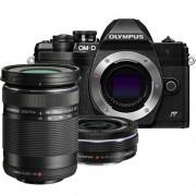 Olympus OM-D E-M10 mark IV zwart + 14-42mm EZ zwart + 40-150mm R zwart