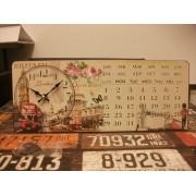 London asztali óra és öröknaptár