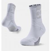 Under Armour Sokken voor volwassenen UA Playmaker Crew - Unisex - White - Grootte: Medium