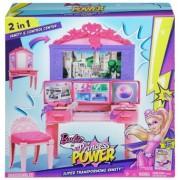 Barbie Super Printesa Transforming Superhero Vanity Set joaca CDY64