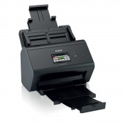 Document scanner BROTHER ADS2800W, A4 Dual CIS, 30 ppm standard in mono&colour, 60 sides per minute 2-sided, 512MB, Hi-Speed USB 2.0, USB Host (up to 64GB), Cloud Scanning, Scan to Email Server