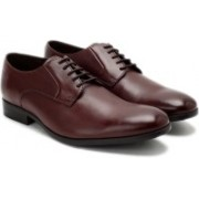 Clarks Banfield Walk Chestnut Leather lace up For Men(Brown)