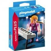 Комплект Плеймобил 9095 - Певец със синтезатор, Playmobil, 2900349