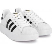 ADIDAS ORIGINALS SUPERSTAR BOLD W Sneakers For Women(White, Black)