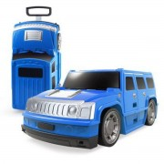 Alltoys Kufr auto Hummer modrý