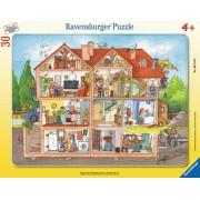 Puzzle Inauntrul Casei, 30 Piese Ravensburger