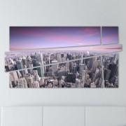 Tablou New York Skyline 100 x 53 cm