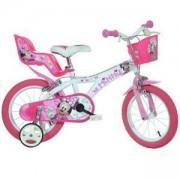 Детско колело MINNIE - 14 инча Dino Bikes, 8006817902669