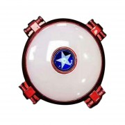 EB Aleación Luminosa Multifuncional Spinner Spinner De Dedo De Mano Recargable Toy - Rojo