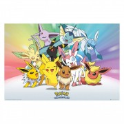 Pokémon, Maxi Poster - Eevee and Pikachu