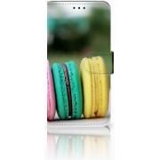 Huawei P30 Lite Boekhoesje Design Macarons