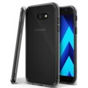 Protectie spate Ringke FUSION SMOKE BLACK pentru Samsung Galaxy A5 2017 + BONUS folie protectie display Ringke (Negru/Fumuriu)