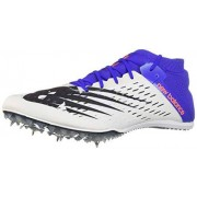 New Balance Men's 800v6 Track Shoe, white/uv blue, 13 D US