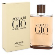 Acqua Di Gio Absolu Eau De Parfum Spray By Giorgio Armani 6.7 oz Eau De Parfum Spray