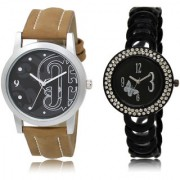 The Shopoholic Black Combo Fashionable Funky Look Black Dial Analog Watch For Boys And Girls Mens Watches