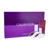 Calvin Klein Euphoria 100Ml Edp 100 Ml + Edp 30 Ml + Body Lotion 100 Ml Per Donna (Eau De Parfum)