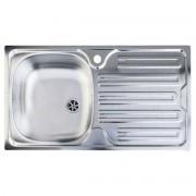 Chiuveta Franke Colibri 2'' CIN 611 Inox lucios 88944402, 780x435mm, 1B 1D, Cuva stanga