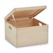 Cutie depozitare,lemn de pin ,35 x 35 x 22 cm