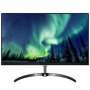 Монитор Philips 276E8FJAB, 27 инча (2560x1440) IPS LED, 4 ms, 1000:1, 20M:1 DCR, 350 cd/m2, D-Sub, HDMI, DP, Headphone Out, Silver, 276E8FJAB/00