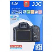 2x Film Protection Ecran LCD H3 pour Appareil Photo Canon PowerShot SX60 HS