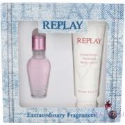 Replay - Jeans Spirit! For Her (20 ml) Szett - EDT