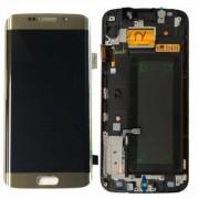 Дисплей + Tъч скрийн за Samsung G925 Galaxy S6 Edge Gold