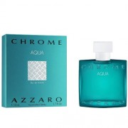 Azzaro Chrome Aqua Eau de Toilette Spray 100ml за мъже
