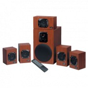 GENIUS SW-HF5.1 4800 zvučnici (Braon)