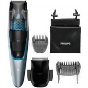 Тример за брада с вакуум Philips series 7000, 0,5 мм прецизни настройки, Метални ножчета, BT7210/15