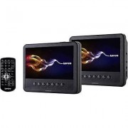 Lenco MES-212 Headrest DVD player + 2 monitors Screen size diagonal...